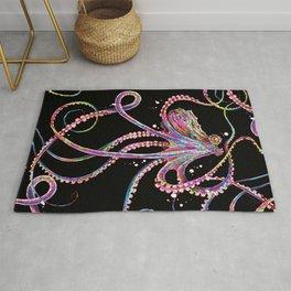 Reverse Drunk Octopus Rug