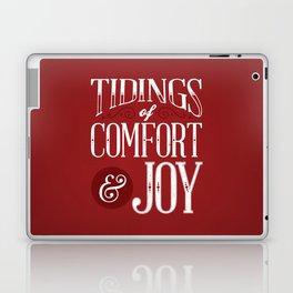 Tidings of Comfort & Joy Laptop & iPad Skin