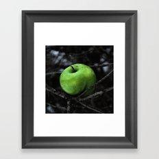 The Poison Apple Framed Art Print