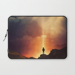 At the edge of the World  Laptop Sleeve