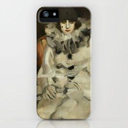 """Pierrot"" by Ambrogio Alciati iPhone Case"