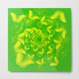 A flutter vortex of butterflies Metal Print