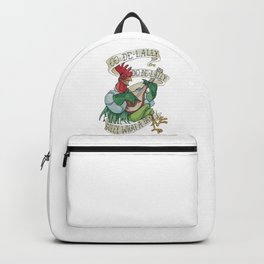 Alan A Dale - Oo de Lally Golly What a Day Roster Backpack
