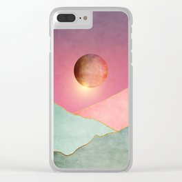 Surreal sunset 02 Clear iPhone Case