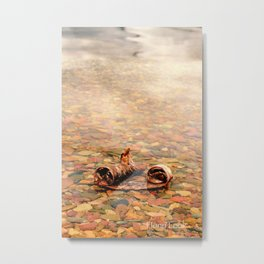 Red Birch Metal Print