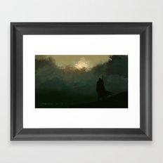 Cursed lands Framed Art Print