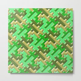 Geometrix 109 Metal Print