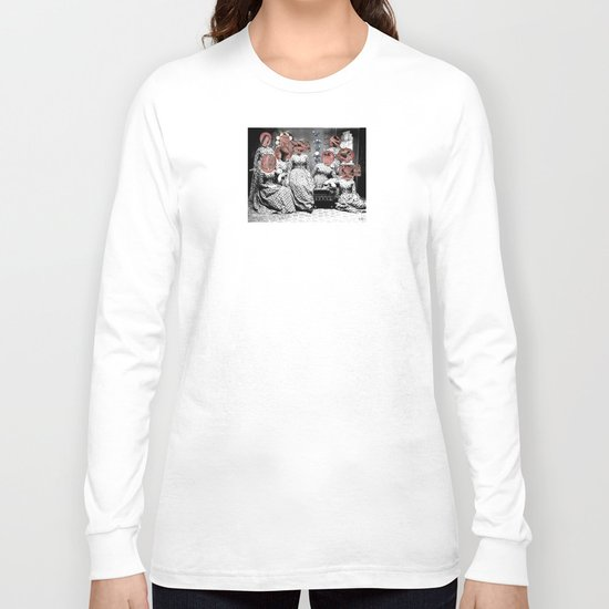 Women´s meating Collage Long Sleeve T-shirt