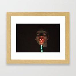 Poorly lucky  Framed Art Print
