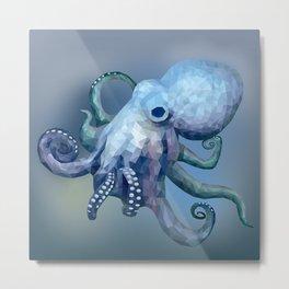 Spectre the Octopus Metal Print