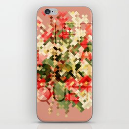 Life is a Bouquet iPhone Skin