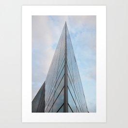 Glass Houses Art Print