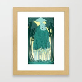 Tree Head Framed Art Print