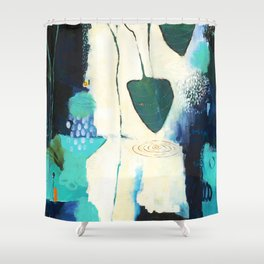 """Deep Sea Forest"" Original Artwork by Flora Bowley Shower Curtain"