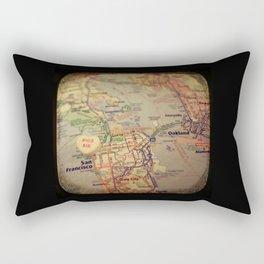 Kiss Me San Francisco Rectangular Pillow