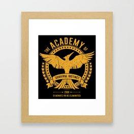 Academy of Survival Framed Art Print