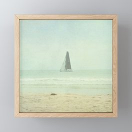 Sail Away - Newport Beach California Framed Mini Art Print