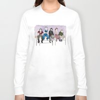 breakfast club Long Sleeve T-shirts featuring The Breakfast Club by DJayK