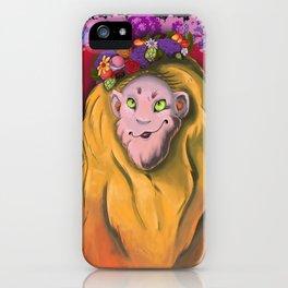 Monty's Crown iPhone Case