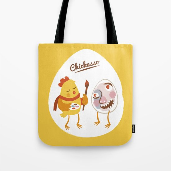 Chickasso Tote Bag