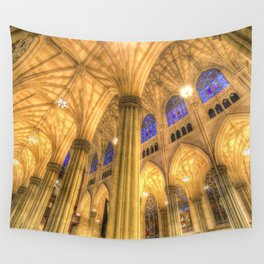 St Patrick's Cathedral Manhattan New York Wall Tapestry