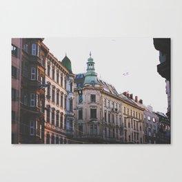 spring in vienna Canvas Print