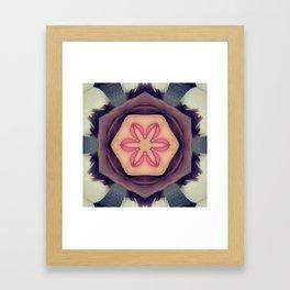 Cherry Chapstick Framed Art Print