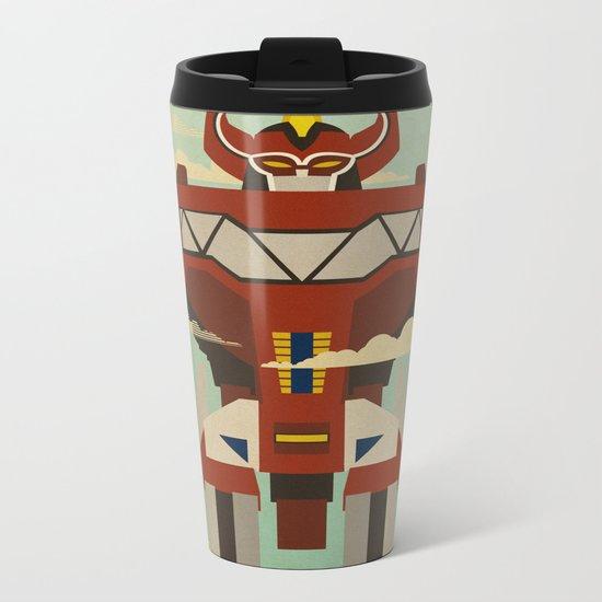 The Mega of the Zords Metal Travel Mug