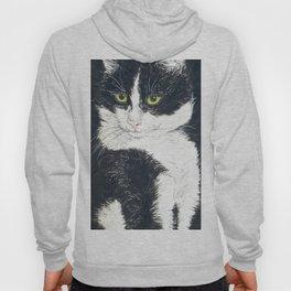 Tuxedo cat Hoody