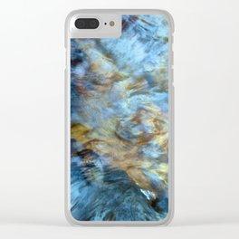 Les ailes du coeur Clear iPhone Case