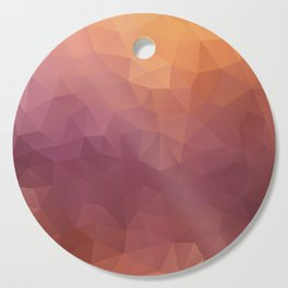 """Berries fresh juice"" triangles design Cutting Board"