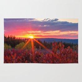 Dolly Sods Sunset, Tucker County, WV Rug