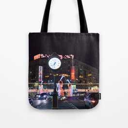 The fast passage of time during the Christmas period Tote Bag