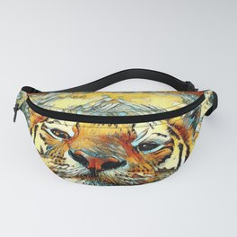 AnimalArt_Tiger_20170601_by_JAMColorsSpecial Fanny Pack
