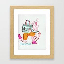 FICTIONAL PLNT, Framed Art Print