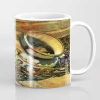 cracked Mugs featuring Cracked by BeachStudio