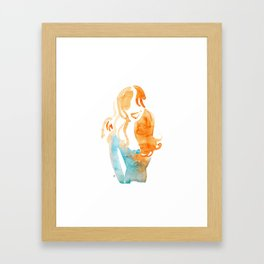 Kk by C'EST LA VIV Framed Art Print