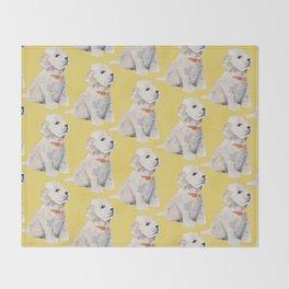 Cockapoo Pups Throw Blanket