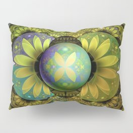 The Enchanted Feathers of the Golden Snitch Pillow Sham