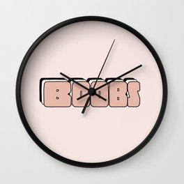 BOOBS Wall Clock