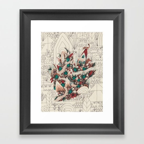 Watermelon Man 3 Framed Art Print