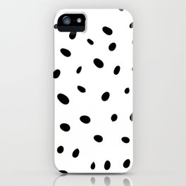 the ink blots 1 iPhone Case