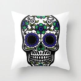 Sugar Skull 11 Throw Pillow