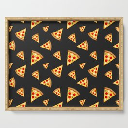 Cool and fun pizza slices pattern Serving Tray