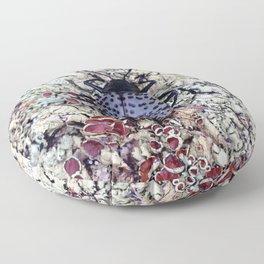 Watercolor Beetle, Pleasing Fungus Beetle 01, Moraine Park, RMNP, Colorado Floor Pillow