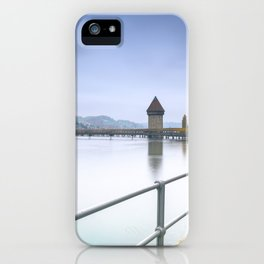 Lucerne Upriver iPhone Case
