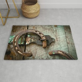 Horseshoes Rugs For Any Room Or Decor Style Society6