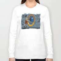 aperture Long Sleeve T-shirts featuring In Need of a Companion by Miss-Lys