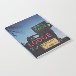Pine Creek Lodge Notebook