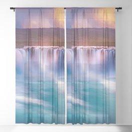 Falls Sheer Curtain